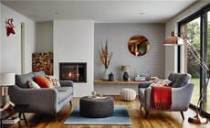客厅沙发的正确打开方式,有颜还实用
