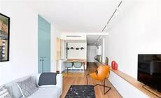 80㎡的长条户型,巧用地柜也能有完美的2室2卫