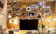 告别大白墙,超有个性的软木板装饰术了解一下?