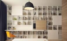 书房已经落伍啦,现在流行的是家庭图书馆!