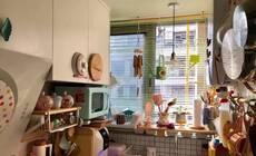 2㎡阳台大改造,变身有内嵌烤箱的小厨房
