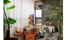 把你的阳台布置成秘密花园吧!