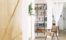 打通客厅阳台和书房,120㎡变成阳光小森林