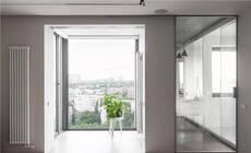 恰到好处的开放式设计,78㎡的家通透敞亮!