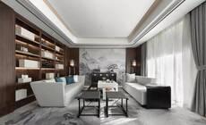 新中式沙发背景墙 简直不要太惊艳!