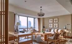 客厅摆实木沙发,好实在的美吖!