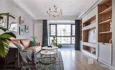 75㎡现代简约风,二居室也可以满足大收纳!