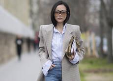 白靴+仔裤才是超模姐妹团纵横街拍圈的法宝!