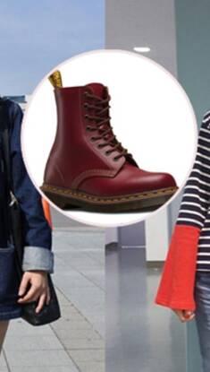 雪藏半年的马丁靴 终于能够名正言顺地上脚了!