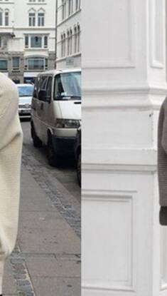 初冬 你需要一件Oversize上衣~