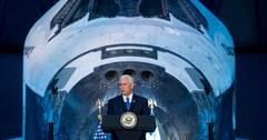 彭斯称美国将重返月球 为进军火星打基础