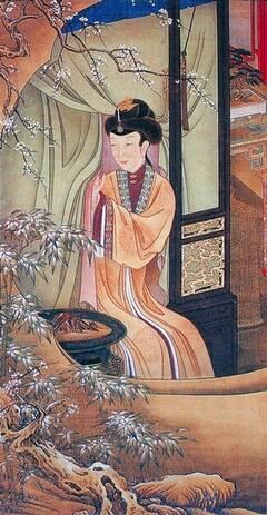 雍正十二美人图 雍正皇后亲自担任模特