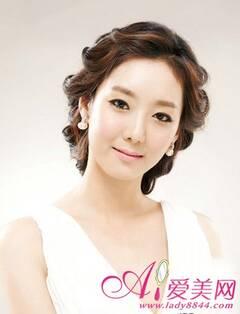 11款最新韩式新娘发型 浪漫再升级