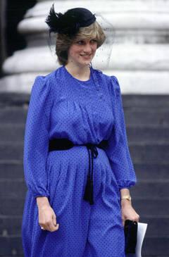 戴安娜王妃怀孕期间照片回顾