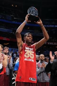 特荣获2012NBA全明星赛MVP