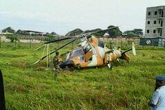 喀麦隆一架直-9降落时遇事故