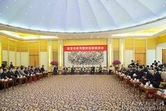 朱镕基出席人大老校长新书座谈会