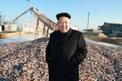 金正恩视察水产所:军队有鱼吃很开心