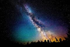 一组星空的照片