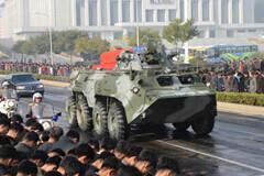 朝鲜为人民军元帅举行国葬 最新国产战车再亮相