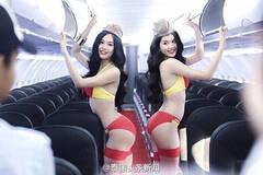 """越南""""空姐""""比基尼宣传照引争议"""