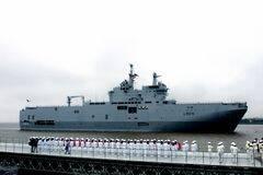 法西北风舰访华 想让中国接盘?