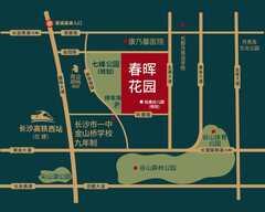 春晖花园规划图2