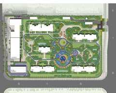 华远海蓝郡规划图2