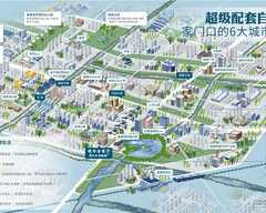 新西塘孔雀城翡翠天宸规划图2