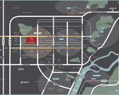 阳光城檀瑞府规划图2