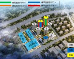 世茂璀璨睿湾规划图2
