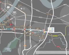 地铁万科·姑娘桥车辆段上盖 (虹云之城、云彩之城)规划图2