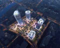 世茂三亚国际金融中心效果图1