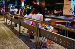 马来西亚街拍:美女各有风情