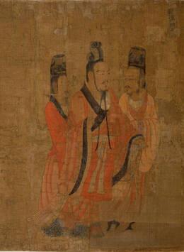 盘点阎立本《历代帝王图》中的十三位帝王(高清)图片