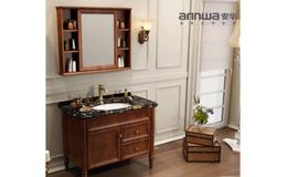 安华卫浴实木浴室柜anPGM43028-A