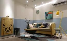 梦想改造家 | 6万预算设计师DIY改造,38㎡半地下室蜕变梦想阳光居所