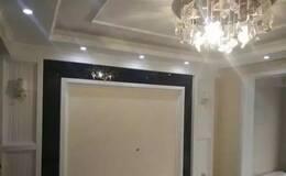 装修师傅真给力 电视墙和柜子做的够细致!