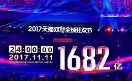 凤凰观察   2017天猫双11成交总额1682亿元 家居建材成绩亮眼
