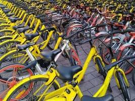 广州共享单车考核摩拜ofo得分偏低,废旧车辆清理问题突出