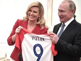 """克罗地亚输了,但他们的乡村小妞总统却""""赢""""得很漂亮!"""
