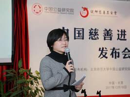 中国慈善进步指数(2017)发布:京沪苏浙粤宁稳居前十