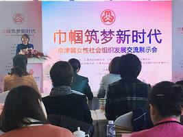 京津冀女性社会组织发展交流展示会举行