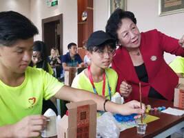"""""""一带一路•民心相通""""七国少年中国行手拉手活动在京举行"""