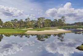 帕尔默邀请赛举办地湾丘俱乐部18洞美景一览
