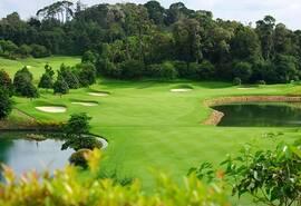 印尼民丹岛高尔夫巡礼 乐雅高尔夫俱乐部美景