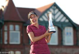 英国女子公开赛霍尔夺个人LPGA首冠