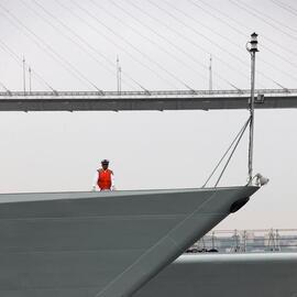 中国舰队陆续离开符拉迪沃斯托克 军演细节回顾
