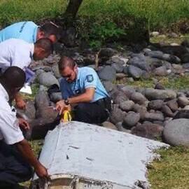 法属留尼汪岛发现的MH370残骸