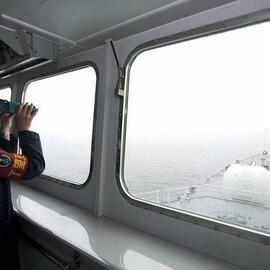 北海舰队5艘军舰穿越宗谷海峡赴陌生海域训练